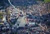 Aerial photo of Brayford Pool.