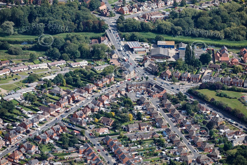 Aerial photo of Rookery Lane.