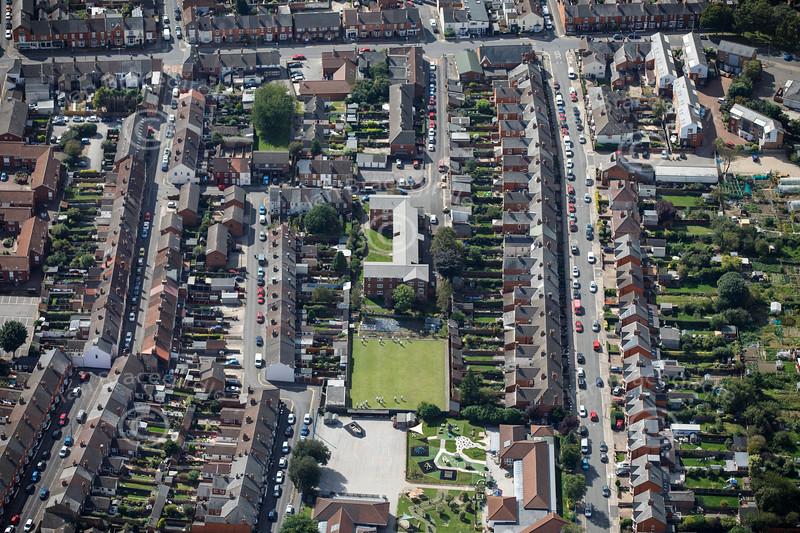 Aerial photo of Mount Street.