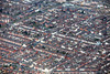 Cross Street area of Lincoln from the air.