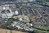 Aerial photo of Boultham Park.