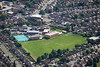 Aerial photo of St Peter and St Paul School.