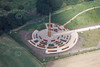 Aerial photo of The International Bomber Command Centre. in Lincoln.