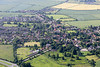 Barrowby near Grantham from the air.