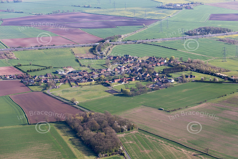 Aerial photo of Beltoft.