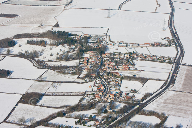 Aerial photo of Boothby Graffoe.