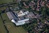 Aerial photos of Bottesford Industrial Estate near Grantham.