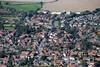 Aerial photos of Bottesford near Grantham.