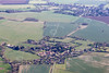 An aerial photo of Braceborough in Lincolnshire.