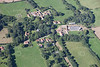 An aerial photo of Braceby in Lincolnshire.