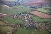 Aerial photo of Burgh on Bain.