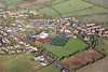 Aerial photo of Corby Glen.