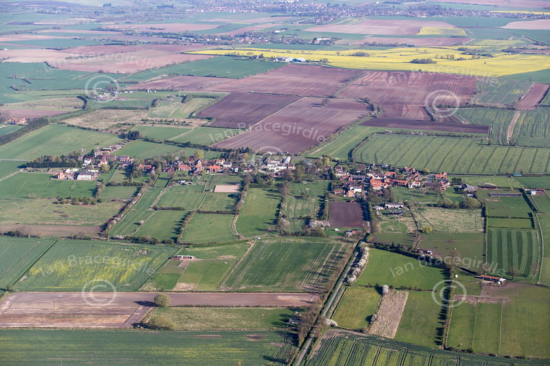 Aerial photo of East Lound.