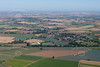 An aerial photo of Gosberton in Lincolnshire