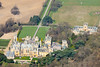 Aerial photo of Harlaxton Manor.