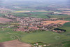 An aerial photo of Haxey.