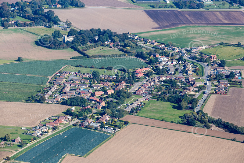 Aerial photo of Leverton-1