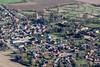Aerial photo of Marston.