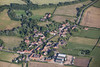 Aerial photo of Muston in Lincolnshire.
