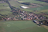 A stock aerial photo of Newton on Trent village in Nottinghamshire.