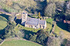 Aerial photos of Normanby Le Wold in Lincolnshire.