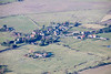 Aerial photos of North Willingham in Lincolnshire.