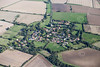 Aerial photo of Pickworth in Lincolnshire.