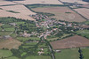 An aerial photo of Ropsley in Lincolnshire