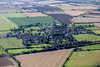 An aerial photo of Sedgebrook in Lincolnshire