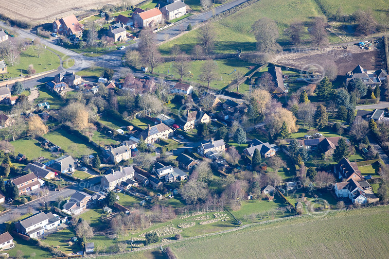 Aerial photos of North Swallownest in Lincolnshire.
