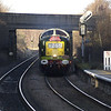 As my other shot was rubbish I didn't include it but included this head on shot of D9009 on 1Z55 Crewe - Carlisle through Conisborough on 28th Dec