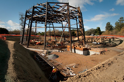Bing Concert Hall, construction
