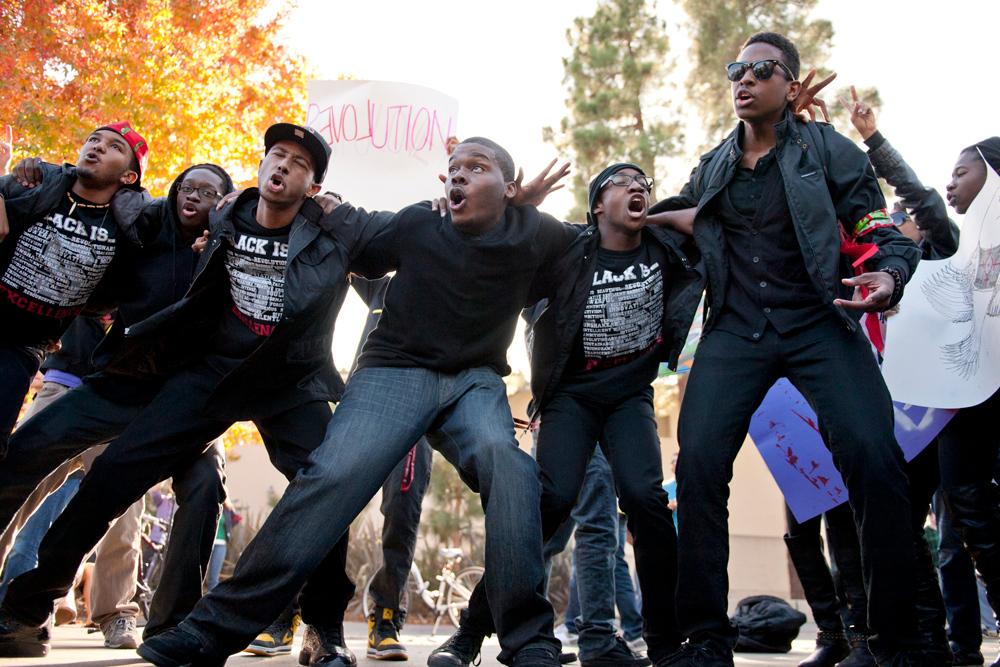 Occupy Stanford event in White Plaza