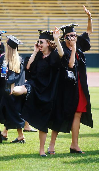 First daughter graduates