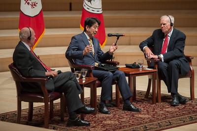 Prime Minister Abe of Japan