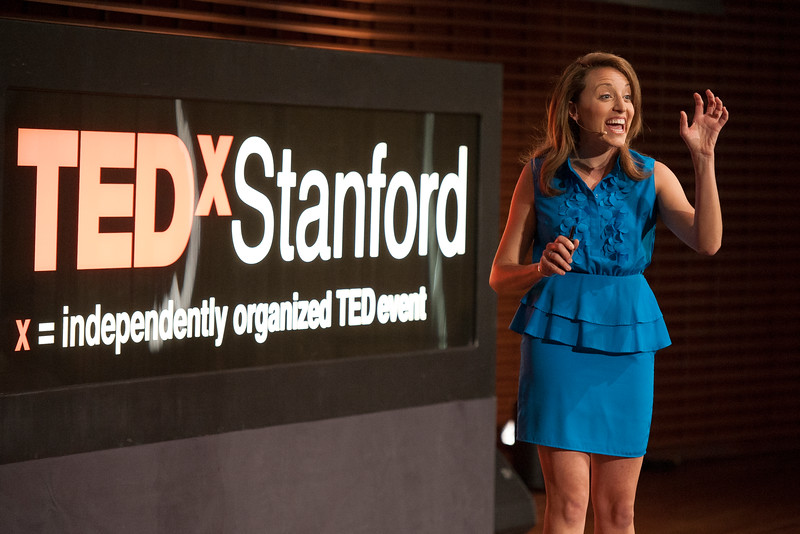 Alli McKee at TEDxStanford.