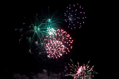 2010 July 4 Reedley Fireworks