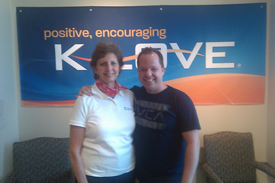 10 09-08 Interviewed by KC Wright of KLOVE for Morning Show.  kcw
