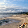Carmel Beach Sunset 18x27 canvas