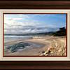 Carmel Beach Sunset in African Walnut 29.5x38.5