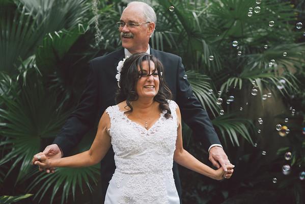 Linda and David