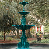 Lafayette Square Fountain, Savannah GA