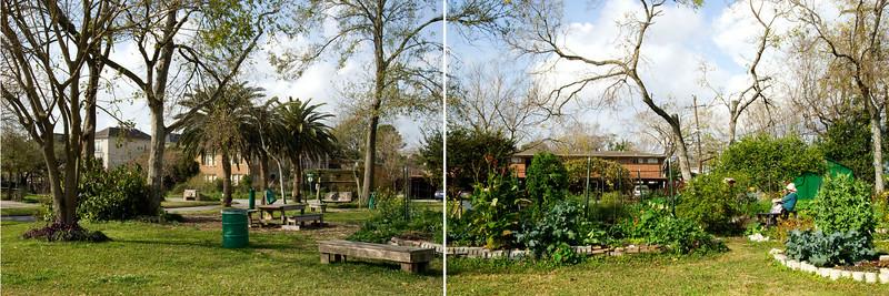 Meredith Gardens Diptych #1