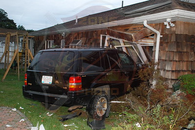 Lindenhurst F.D. MVA Car into House 416 S. Strongs Ave. 9/16/09
