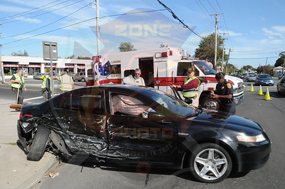 Lindenhurst F.D. MVA w/ Door Removal and Medevac Delaware Ave. and Montauk Hwy. 10/14/13
