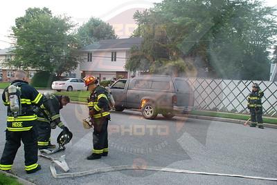 Lindenhurst F.D. Signal 14 N.Jefferson Ave. and Daniel St. 8/3/09