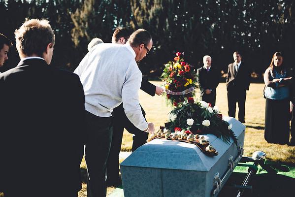 Grandpa Brent's Funeral