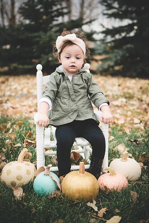 Maci and Hailey - Pumpkin Shoot {Edited} - November 2017