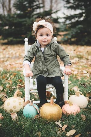 Maci and Hailey - Pumpkin Shoot {Favs} - November 2017