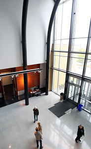 Atrium, Kimball Visual Arts Center